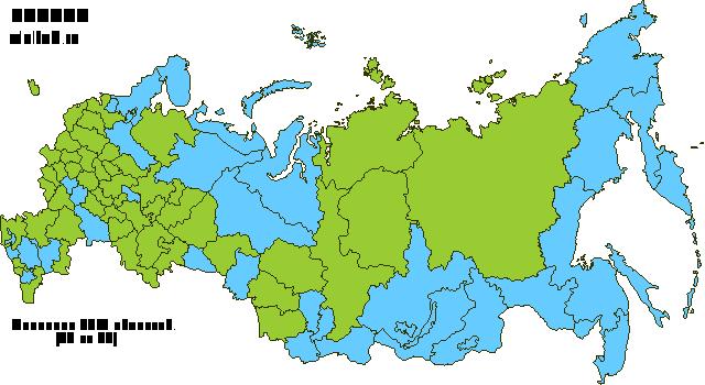 Карта путешествий Алекса Боголюбова по России